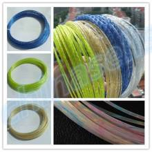 1PCS 12M Rough 1.35MM titanium tennis string line crystal Power rackets strings training racquet