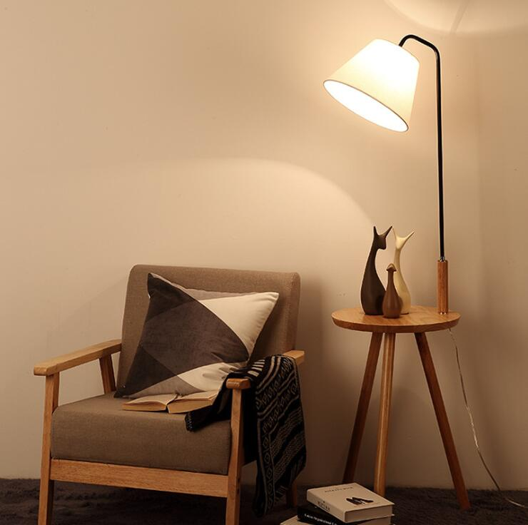 Living Room Led Floor Lamp For Behind
