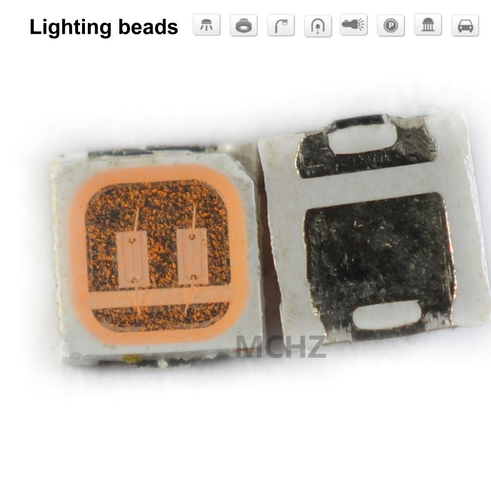 200 pièces 3030 SMD/SMT LED rose violet SMD 3030 LED montage en saillie bleu 3 V ~ 3.6 V Ultra Birght diode LED puce 3030 rose violet