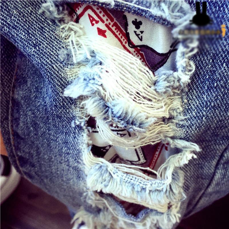 40f85d0303 Pantalones Vaqueros de Las Muchachas 2018 Niños Del Resorte de Los bebés 2  7Yrs Niños Pantalones Rotos Agujero Pantalones Pantalones Marca de Moda  Niños ...