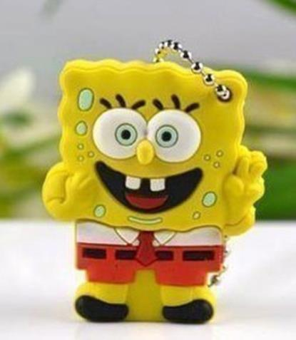 SpongeBob SquarePants flash memory 8GB 16GB USB 2.0 Flash Memory Stick Drive Thumb/Car/Pen disk printing S57!usb stick