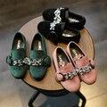 Crystal shoes онлайн для девочек цветок скольжения на плоские кроссовки малыша девушки мокасины удобные детские прогулки детская обувь