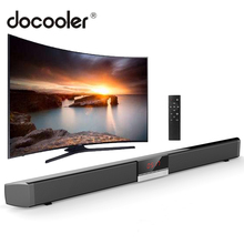 SR100 Plus Bluetooth Soundbar Home Tv Speaker Draadloze Subwoofer Afstandsbediening Stereo Surround Sound Luidsprekers Voor Home Theater