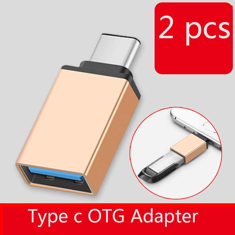 Usb typc c OTG محول usb type-c ذكر إلى USB 3.0 أنثى محول لهواوي P30 p20 لايت p10 برو p9 نوفا 4 3 MediaPad M5 الشرف