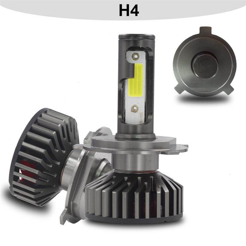 HTB1RiZkd8OD3KVjSZFFq6An9pXat YHKOMS Mini Size Car Headlight H4 H7 LED 3000K 4300K 5000K 6500K 8000K 25000K H1 H8 H9 H11 9005 9006 LED Bulb Auto Fog Light 12V