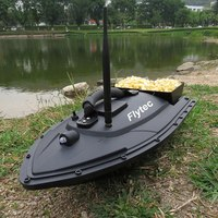 Flytec 2011 5 Smart RC Bait Boat Fishing Tool Toys Dual Motor Fish Finder Boat rc Remote Control Fishing Boats Ship High Quality