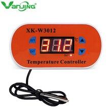 W3012 DC 12 V 110 V-220 V AC цифровой регулятор температуры светодиодный дисплей термостата с нагревательным охлаждением