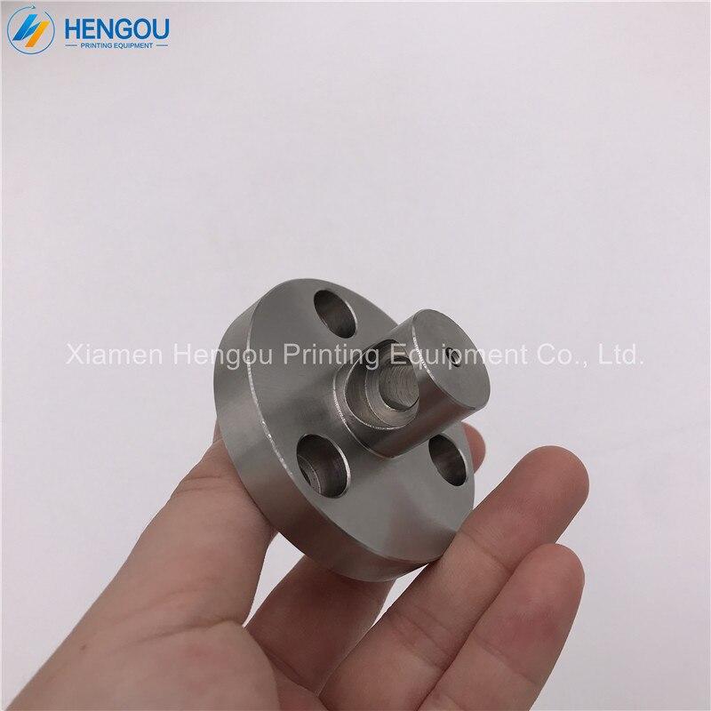 2 pièces chine Post livraison gratuite en acier inoxydable Hengoucn SM74 CD74 tête d'arbre à rouleaux d'eau avec des trous