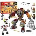 One piece Ninja Salvage M.E.C.Ronin Krazi Frakjaw Compatible With Legoe Ninjagoed Building Blocks sets  Bricks Toys