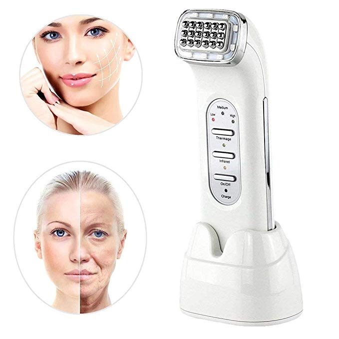 RF Radio Frequency Face Lifting Skin Tightening Face Wrinkle Removal Machine Galvanic Spa Facial Rejuvenation Far