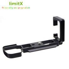 Quick Release L Plate Bracket Holder Hand Grip for Sony Alpha A6300 Digital Camera for Arca Swiss Tripod Head