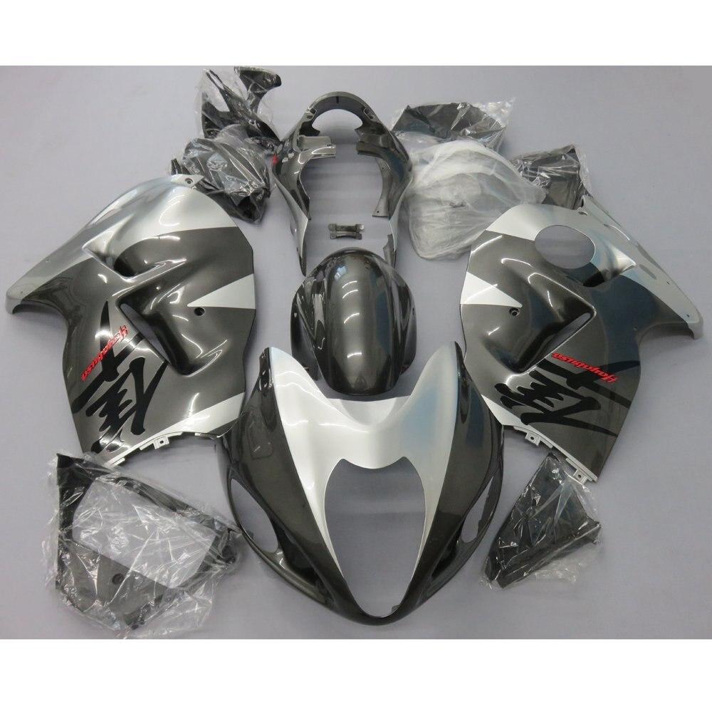 Injection Fairing Kit For Suzuki Hayabusa GSXR 1300 GSXR1300 GSX-R1300 1997 - 2007 Motorcycle Bodywork Fairings Grey UV Painted