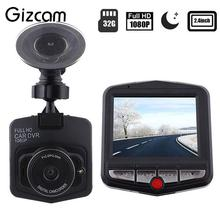 Gizcam 480P 30fps Video Camera 2.4″ LCD Car DVR Dashcam G-Sensor IR Night Vision Mini Cam Camcorder