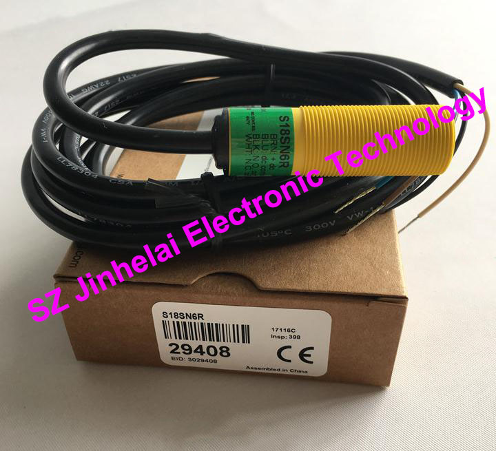 New and original S18SN6R  BANNER  Photoelectric switch, Photoelectric sensor qs18vn6lp new and original banner photoelectric switch npn