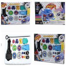 Лидер продаж спиннинг Топы корректирующие beyblade Металл fusion 4D Launcher Сцепление Набор мастер боевых искусств Редкие beyblade дети игрушечные лошадки подарки