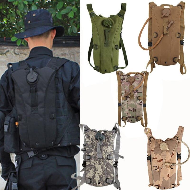 Diferent 6 Farbe Stil Wasserdichte 3L Taktische Outdoor Hydratation Rucksack Tasche mit Blase Für Reiten Wandern Klettern