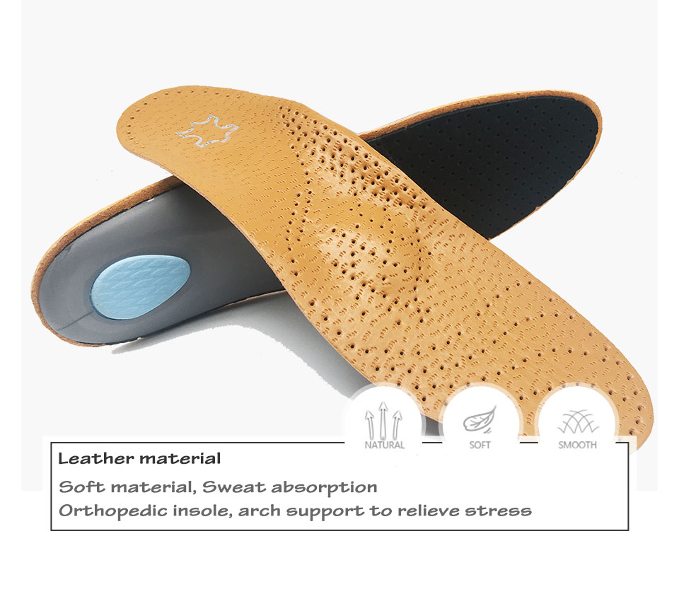 High quality leather orthopedic insole Details 1