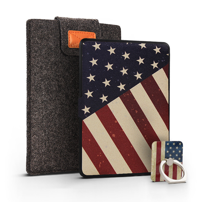 Ultra Slim Cover Case for Amazon Kindle Paperwhite 1/2/3 6 Case for Kindle Paperwhite 6 inch Tablet Shell With Finger Buckle fashion pu leather ultra slim smart cover case for amazon kindle paperwhite 1 2 3 6case tablet shell with sleep