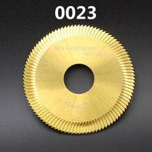 0023 боковая фреза 80-1,4-22 ключ долбежный резак 100Z Оловянное покрытие для WENXING 100G 202A ключевые режущие машины(1 шт