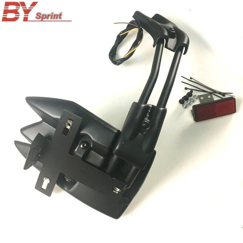 Для YAMAHA TMAX 530 T MAX530 12 18 аксессуары для мотоциклов CNC заднее крыло брызговик держатель номерного знака поддержка плюс пластик