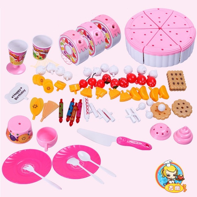 Toys For Your Birthday : Aliexpress buy birthday cake pretend play baby toys