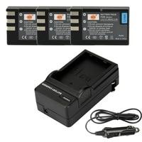 DSTE 3PCS EN EL9 Rechargeable Battery with Travel and Car Charger for Nikon D40 D40X D60 D3000 D5000 Camera