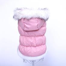 Собака Кошка зимнее теплое пальто Куртка Платье домашнее животное щенок толстовка зимняя теплая одежда Apperal