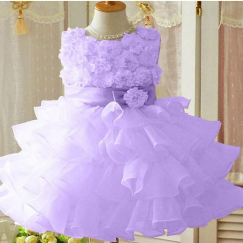 Flower Girl Christening Wedding Party Dress Baby girl clothes ...