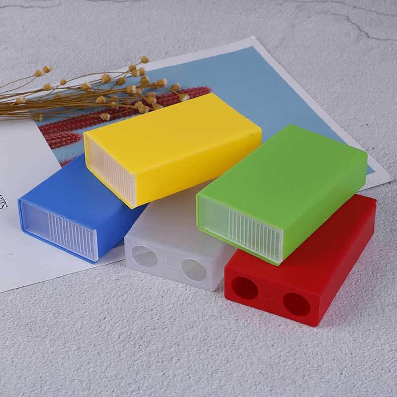 1 adet toptan şeffaf taşınabilir plastik sigara durumda tutun yumuşak paket koyabilirsiniz çakmak sigara kutusu