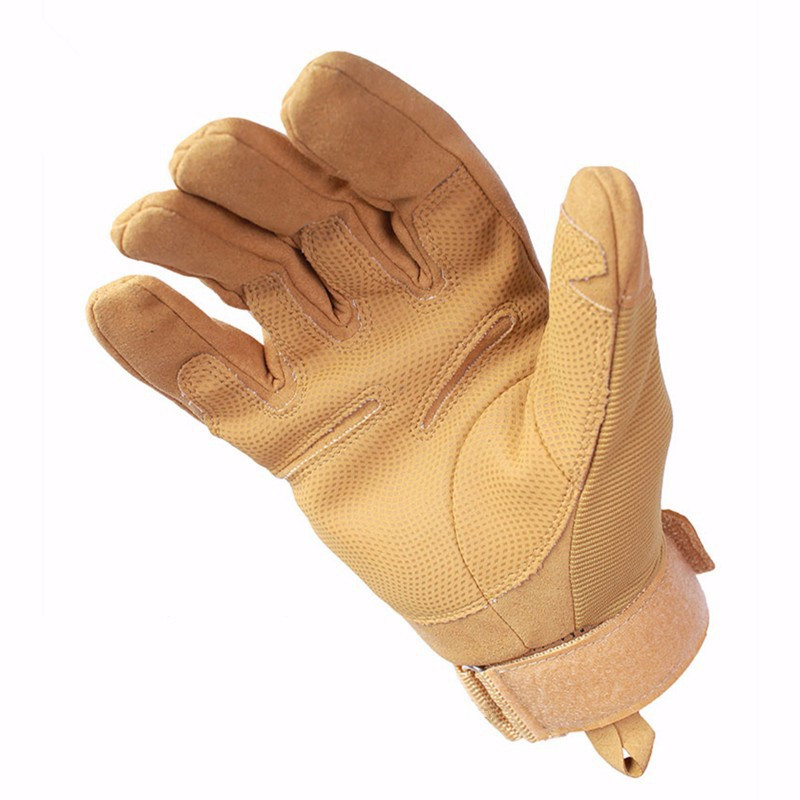 Тактические перчатки армейская военная техника наружные охотничьи перчатки мотоциклист страйкбол пейнтбол оборудование Боевые фитнес перчатки - Цвет: khaki