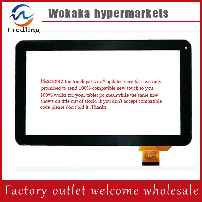 Black or white 10 1 inch Tablet touch screen digitizer glass touch panel Sensor replacement DH
