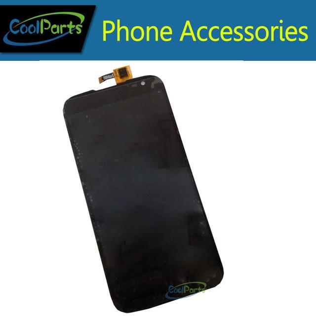 A Cor preta De Alta Qualidade Para A Saga S3 Display LCD e Tela de Toque Digitador Montagem Substituição 1 Pc/lote
