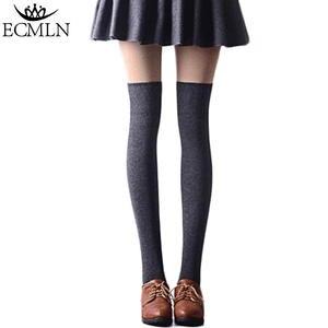 05f855327 ECMLN Women Over the Knee Socks Long Sexy Stocking