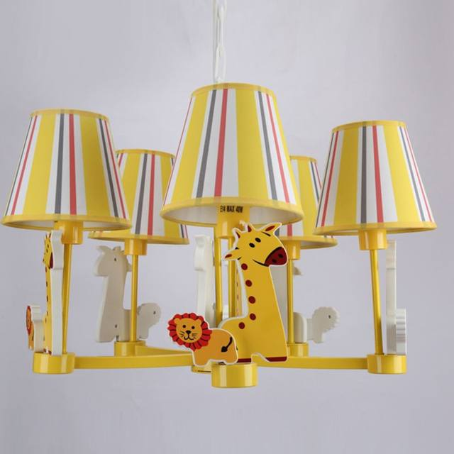 Online shop lovely yellow giraffe childrens room hanginglights lovely yellow giraffe childrens room hanginglights cartoon animal baby room chandelier boy girl room chandelier aloadofball Gallery