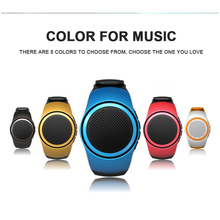 Portable Watch Style Wireless Bluetooth Sports Outdoor Stereo Speaker Support TF Card For Phone