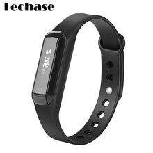 Techase C3 смарт-браслет PK Сяо Mi Band Bluetooth фитнес-трекер Водонепроницаемый Pulsera actividad шагомер калорий Запись
