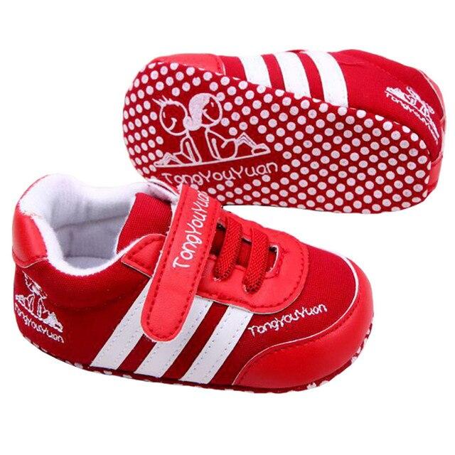 Мода 3 полосатый новорожденного для маленьких мальчиков обувь для девочек для детей Спортивная обувь для indoor Обувь для младенцев для маленьких мальчиков Обувь для девочек Обувь для малышей