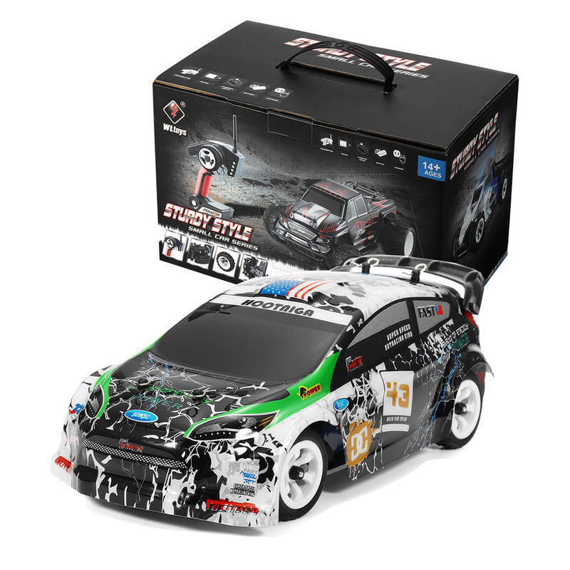 RC Racing Car K989 1/28 2.4G 4WD Brushed RC Car High Speed Radio Control Car Toy 4WD 2.4GHz Drift Remote Control Toys Kids Gift 1 10 rc car high speed racing car 2 4g subaru 4 wheel drive radio control sport drift racing car model electronic toy