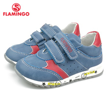 FLAMINGO Fashion Breathable Hook&Loop Spring Orthotic Outdoor Casual Kids