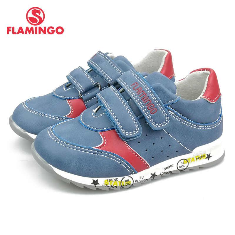 פלמינגו אופנה לנשימה וו & לולאת אביב Orthotic חיצוני מזדמן ילדים ילד גודל 22-27 משלוח חינם 91P-SW-1287/1288
