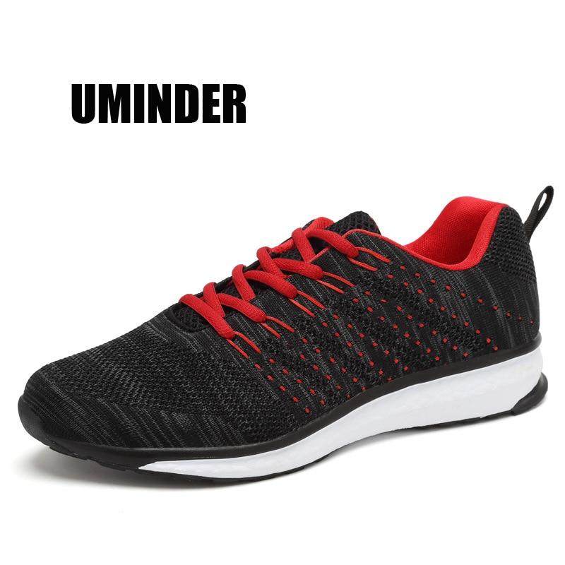 Uminder 2018 Flyknit кроссовки Для мужчин осенние дышащие спортивные кроссовки для мальч ...