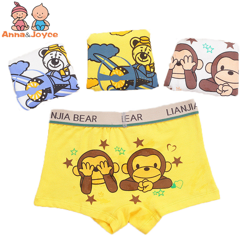 3 Pcs/lot Cotton Underwear For Boys/ Kids Boxer/ Children Underwear Panties Underpants B1TNM0067