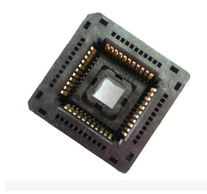 Import original IC test adapter/PLCC52 burn IC120-0524-307 import cnv msop 8 test socket adapter convert burn msop8 to dip8