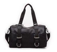 Hot  Men's travel bags for men messenger bags high quality leather handbag shoulder bag bolsas travel bag  JIE-020