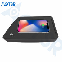 Aotsr Wireless car charger for Toyota Highlander 2016 2018Intelligent Infrared Fast Wirless Charging Car for Phone/Sumsang/Nokia