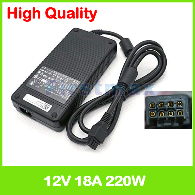 12V 18A 220W AC adapter M8811 ADP 220AB B D220P 01 per Dell Optiplex SX280 GX620 GX760 745 755 760 ultra dekstop di alimentazione