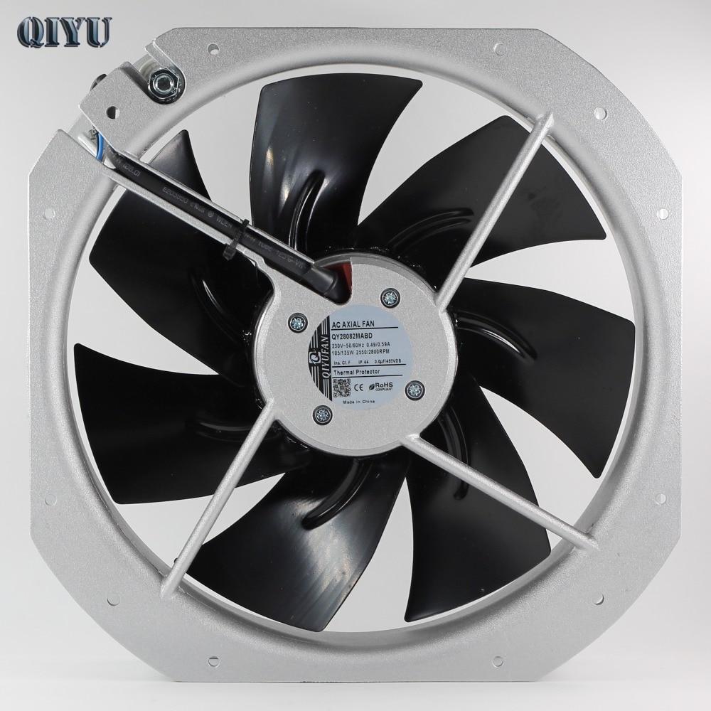 AC 220V Axial Fan 28080 Industrial fan air blower Exhaust heat dissipation 280*280*80mm Ventilation cooling fan Capacitor start