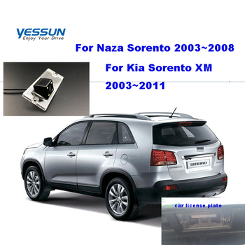 Yessun car Rear View Camera For Kia Sorento II/Sorento R/Sorento XM 2008~ 2011 2013 2014 backup Reversing license plate camera фото
