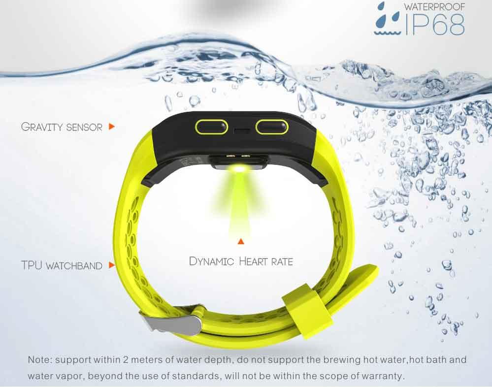 LEMDIOE Heart Rate Smart Wristband GPS Track Record Smart Band 2 Sleep Pedometer Bracelet Fitness Tracker Smart Watch Relogio 4