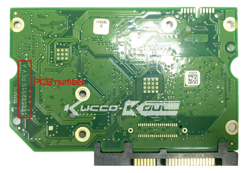 hard drive parts PCB logic board printed circuit board 100602819 for Seagate 3.5 SATA hdd data recovery hard drive repair